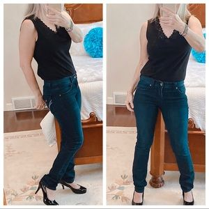 INC Denim skinny leg regular fit jeans